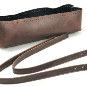 Set borsa vasca con manico in eco pelle misura 30 cm. Crea e personalizza la tua borsa con questo fantastico set borsa.