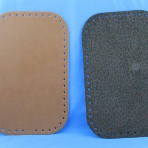Fondi per borsa artigianali ed esclusivi in eco pelle, disponibili in vari colori, prodotti da manifattura italiana. Misura 18x28 cm.