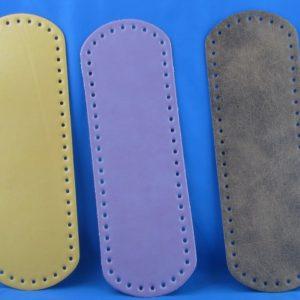 Fondi per borsa artigianali ed esclusivi in eco pelle, disponibili in vari colori, prodotti da manifattura italiana. Misura 31x9,5 cm