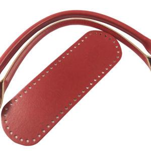 Set borsa Bag con fondo colorato e manici abbinati innovativi con rondella da avvitare senza più cucire! Misura manici 54 cm, fondi 10x30. Composizione: eco pelle.