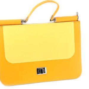 Set borsa Patella bicolore in simil pelle. Disponibile in diverse colorazioni. Crea la tua borsa online grazie ai tanti accessori e set borsa presenti sul nostro shop online