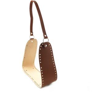 Set giroborsa, misura giroborsa 90x10cm. Composizione in ecopelle. Crea e personalizza la tua borsa con questo fantastico set borsa.