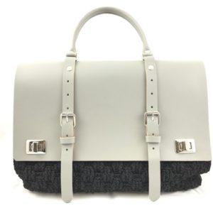 Set borsa elegance... Misure : h25cm - 35cm. Il set si riferisce ai soli particolari in pelle e non all'intera borsa.