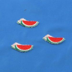 Applicazione anguria 01 in confezione da 3 pezzi