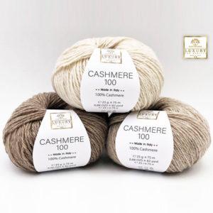 La Lana Cashmere Luxury è un filato linea luxury, 100% cashmere, pregiato e senza eguali di produzione artigianale italiana, disponibile in 9 colorazioni esclusive.