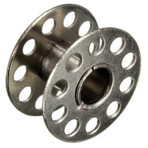 Bobina per macchina da cucire in metallo