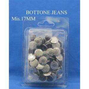 Bottoni automatici Jeans misura 17 mm confezione 100 pezzi