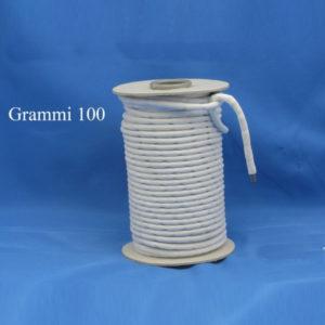 Filo piombo 100 grammi che si differenzia da tutti gli altri prodotti per la lunghezza del pallino interno, dando un peso più uniforme. 100% prodotto italiano