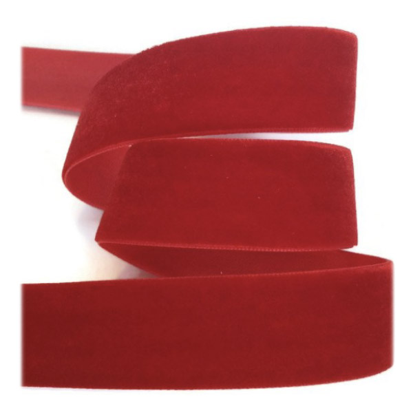 Tessuto in velluto Nastro 10mm di larghezza x 9m rotolo Albicocca 0.4 pollici 10yd